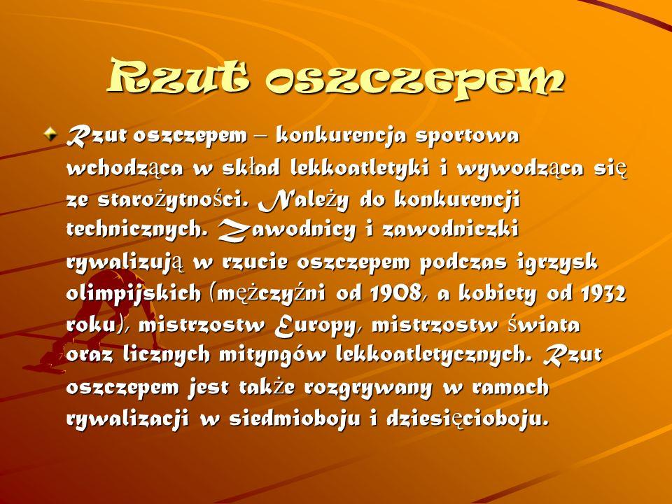 5) Wieloboje czwórbój lekkoatletyczny, pi ę ciobój lekkoatletyczny, siedmiobój lekkoatletyczny, dziesi ę ciobój lekkoatletyczny.
