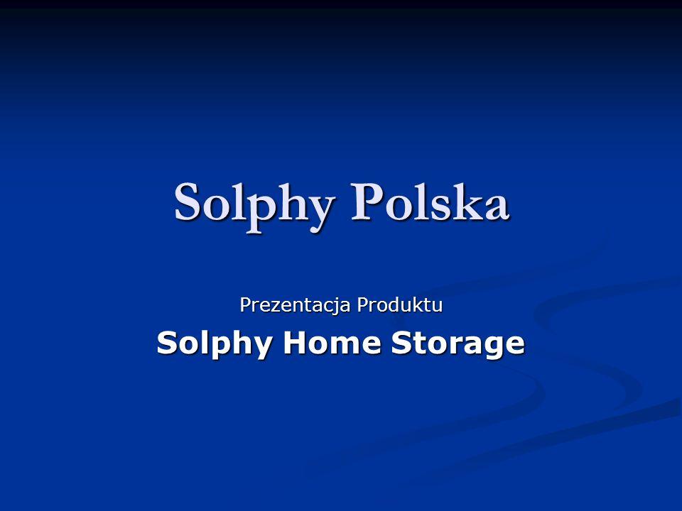 Solphy Home Storage Autoryzacja użytkowników Autoryzacja użytkowników - Standalone - autoryzacja dokonywana przez wewnętrzne mechanizmy Home Storage wewnętrzne mechanizmy Home Storage - Remote - autoryzacja dokonywana przez zewnętrzny serwer uwierzytelniający zewnętrzny serwer uwierzytelniający