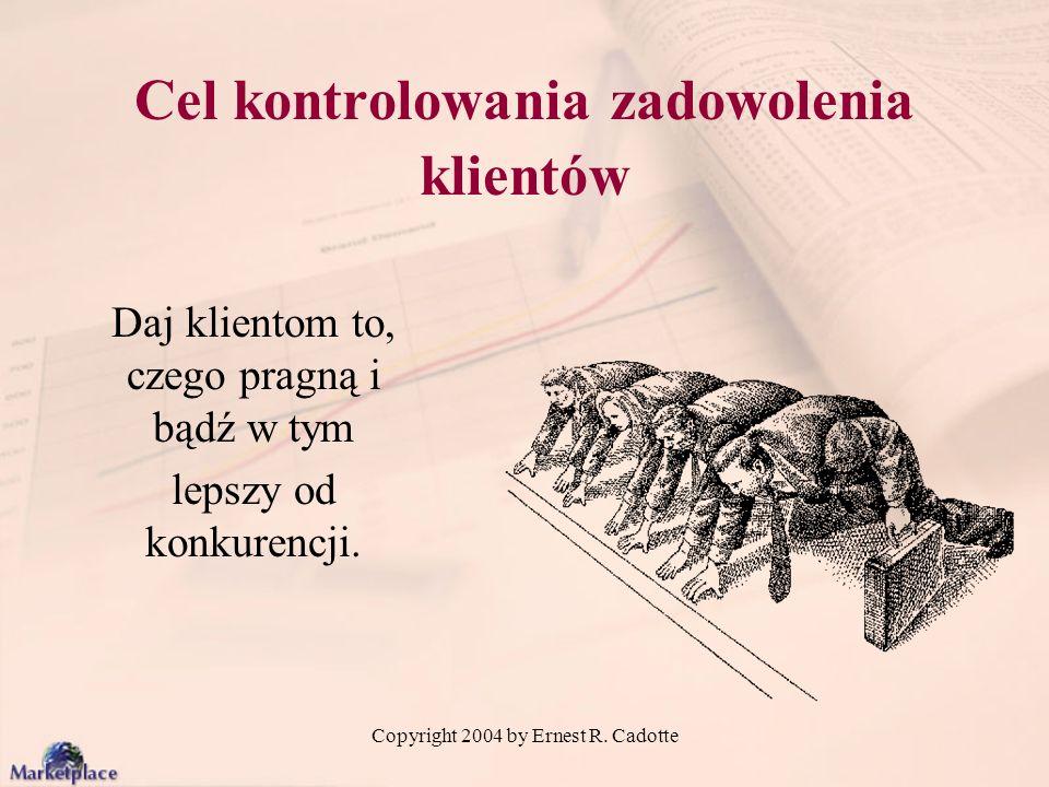 Copyright 2004 by Ernest R. Cadotte Targi kapitału inwestycyjnego