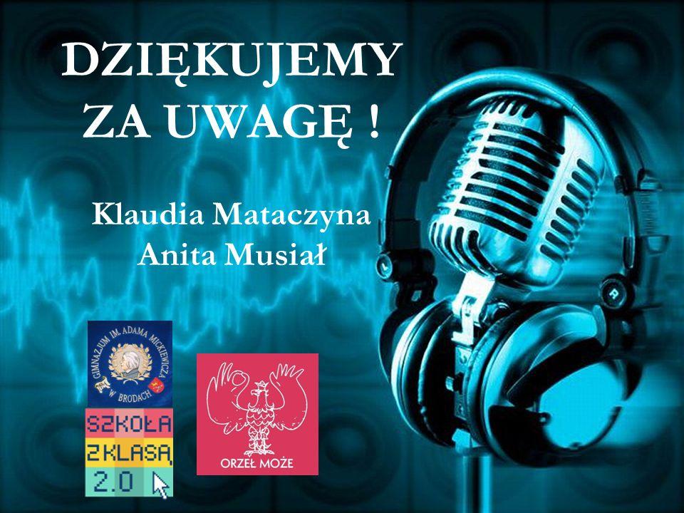 Bibliografia: http://www.polskieradio.pl/10/483/Artykul/629071/ http://www2.polskieradio.pl/podcasting/Podcast_Polskie_Radio_SA.pdf http://www.google.