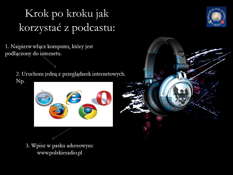 Co to jest podcast.