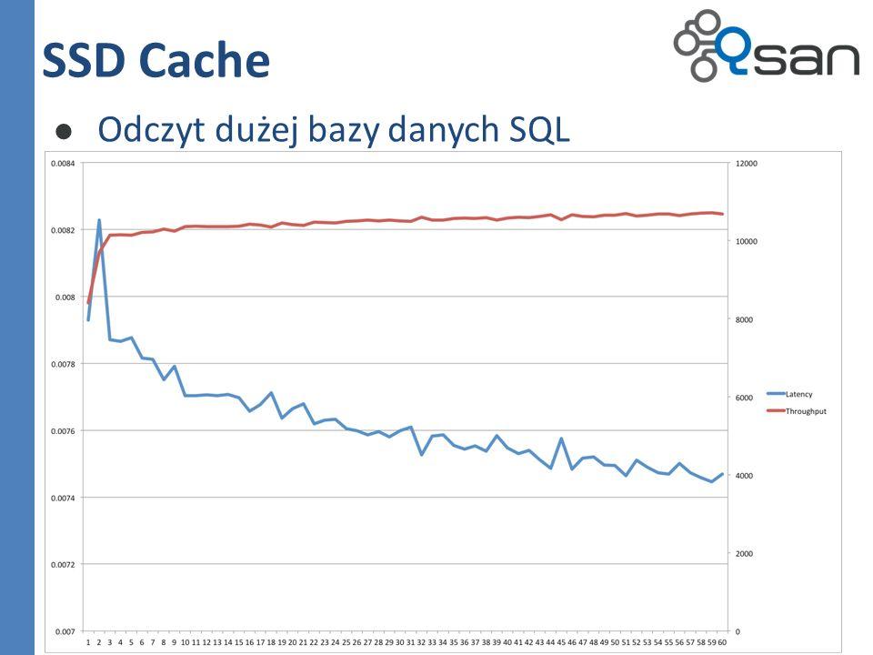 SSD Cache Odczyt dużej bazy danych SQL