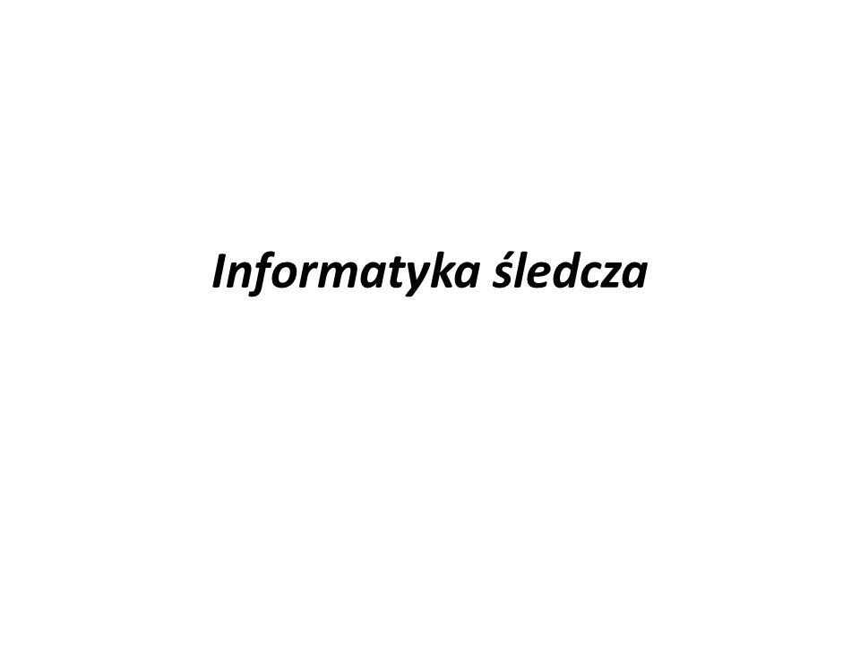 Informatyka śledcza (ang.