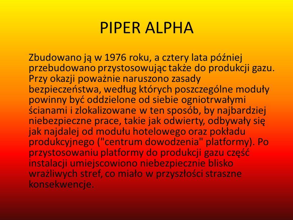 Dzisiaj mijają 23 lata od największej katastrofy w dziejach Aberdeen - tragedii na platformie Piper Alpha, która kosztowała życie 167 ludzi.