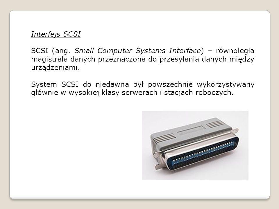 Interfejs SCSI SCSI (ang.