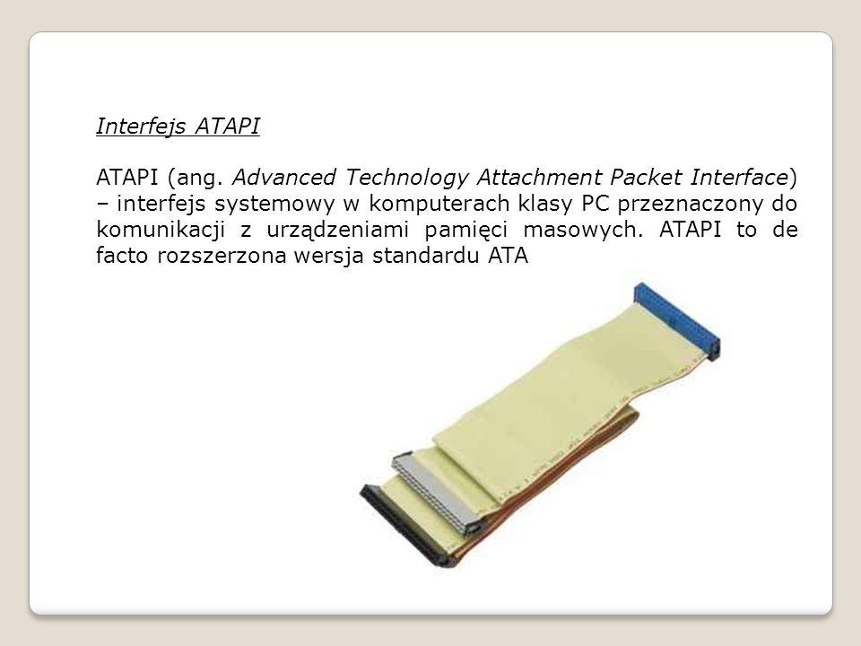 Interfejs ATAPI ATAPI (ang.