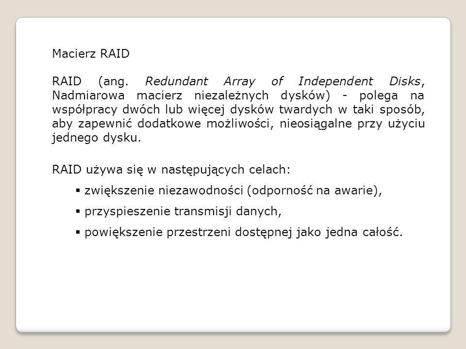 Macierz RAID RAID (ang.
