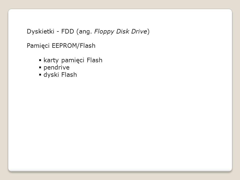 Dyskietki - FDD (ang.