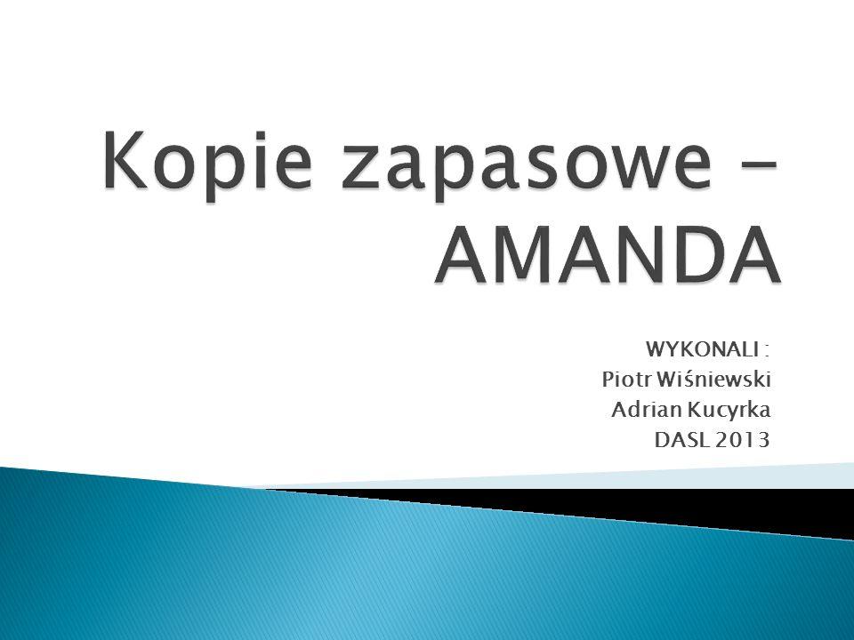 WYKONALI : Piotr Wiśniewski Adrian Kucyrka DASL 2013