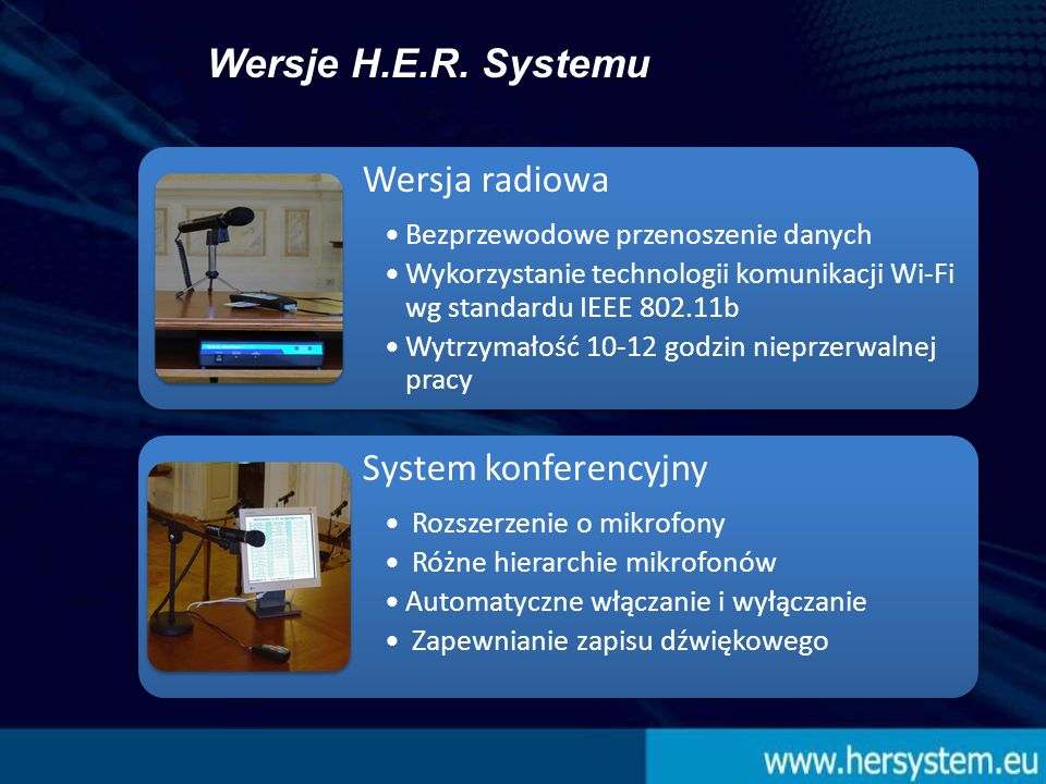 [Elementy stałe H.E.R.Systemu] H.E.R.