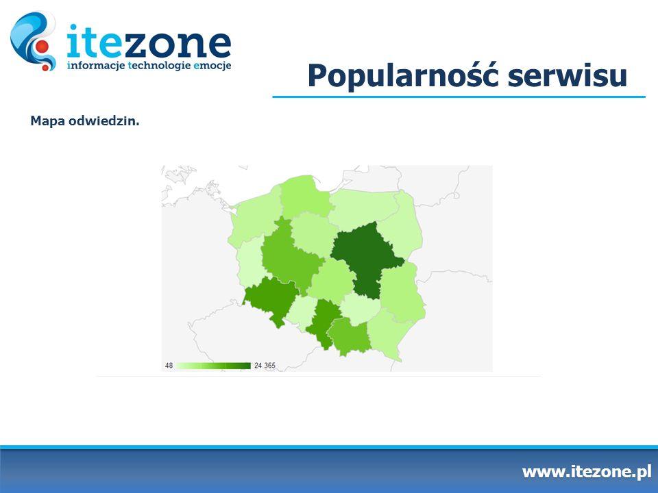 Najnowszy projekt www.itezone.pl Wychodząc naprzeciw zapotrzebowaniom naszych użytkowników, stworzyliśmy strefę multimedialną.