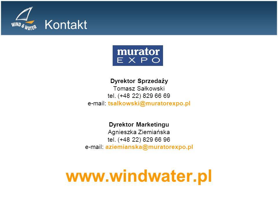 Kontakt Dyrektor Sprzedaży Tomasz Sałkowski tel.