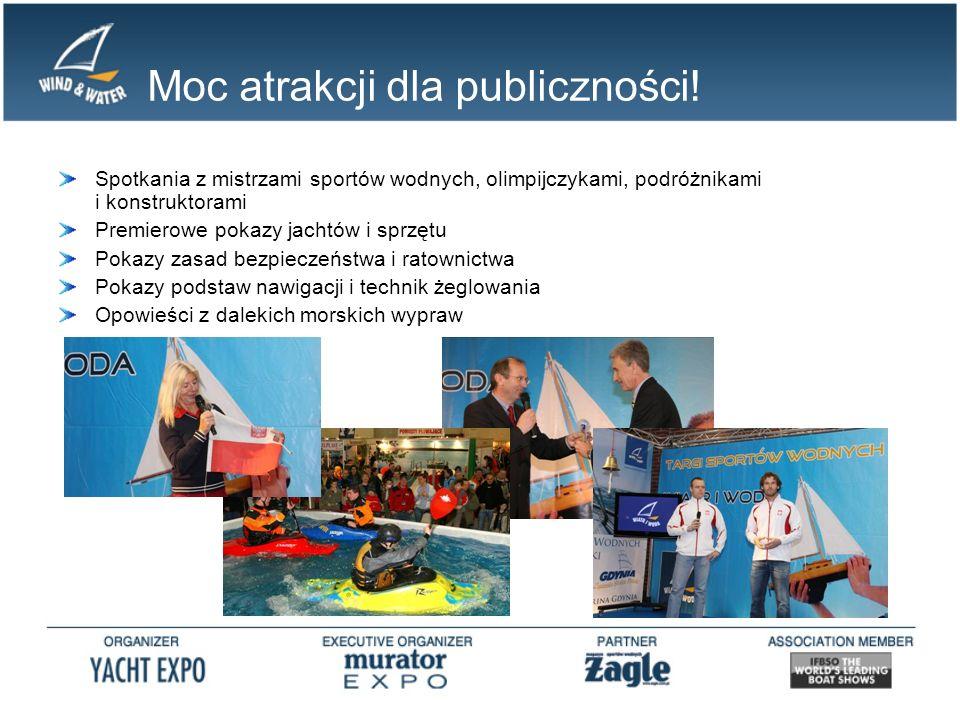 Targi WIATR i WODA na wodzie.Letnia edycja Targów WIATR i WODA odbywa się nad Bałtykiem – w Gdyni.