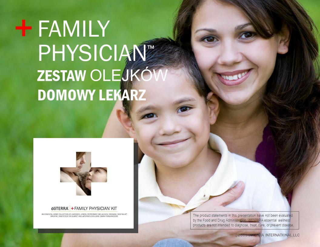 dōTERRA zestaw Domowy Lekarz Sześć olejków i cztery mieszanki, kt re są potrzebne każdej rodzinie.