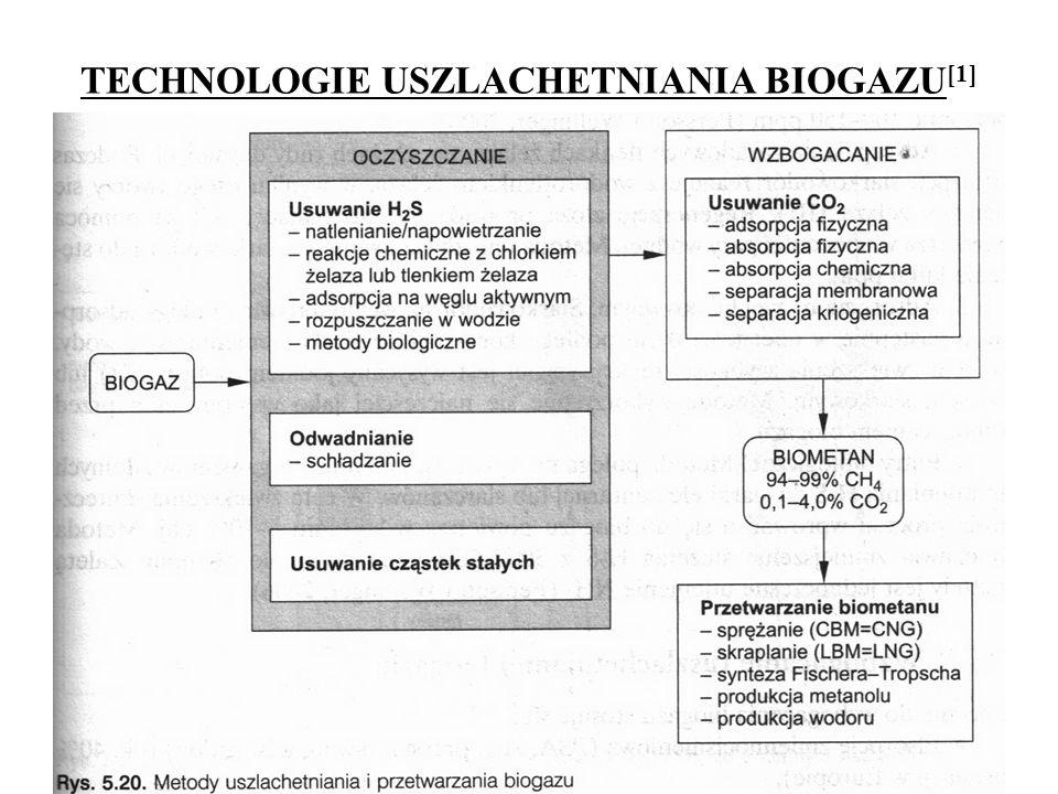 TECHNOLOGIE USZLACHETNIANIA BIOGAZU [1] 31