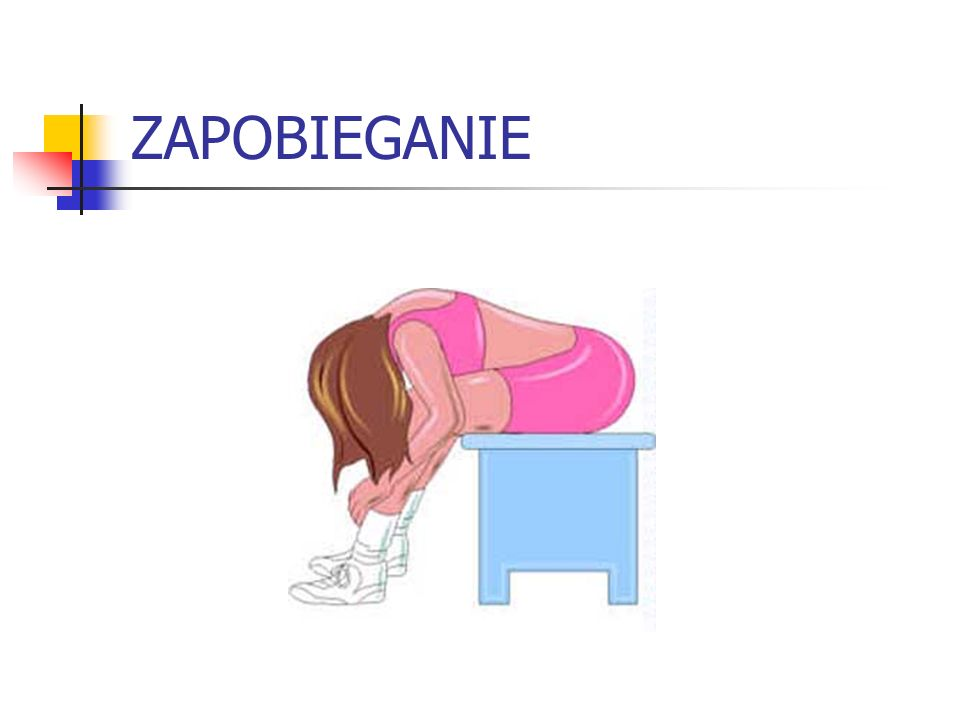 BŁĘDY W POSTĘPOWANIU Gdy zapewniłeś odpowiednią pozycję po prostu bądź przy chorym.