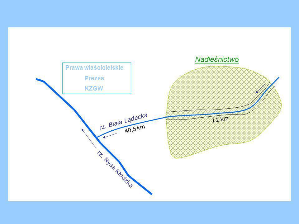 12 km 10,3 km rz. Bystrzyca Kłodzka rz. Nysa Kłodzka Nadleśnictwo