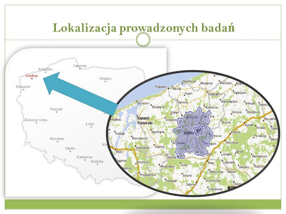Lokalizacja prowadzonych bada ń
