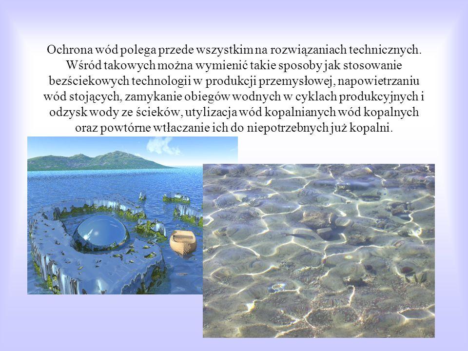 Obecnie jednak woda jest zanieczyszczona. Na drodze ku ziemi pochłania dwutlenek węgla, amoniak i inne gazy, wymywa cząstki brudu i znieczyszczenia ch