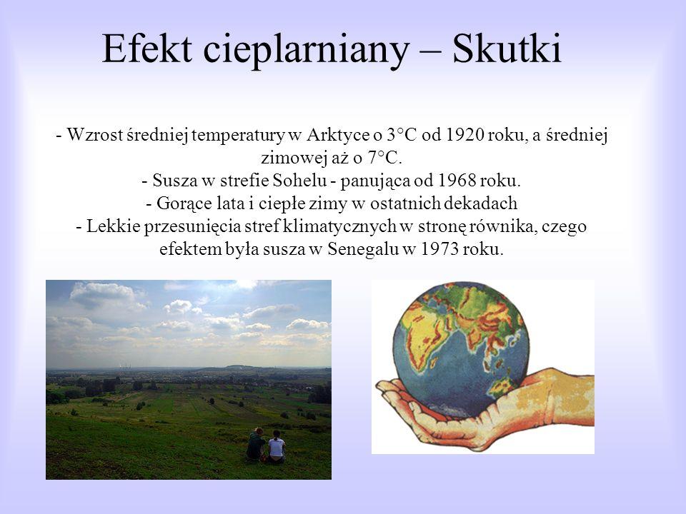 Termin efekt cieplarniany odnosi się do efektu wywołanego przez czynniki naturalne w atmosferze Ziemi oraz do zmian efektu wywołanych przez gazy wyemitowane w wyniku działalności człowieka.człowieka