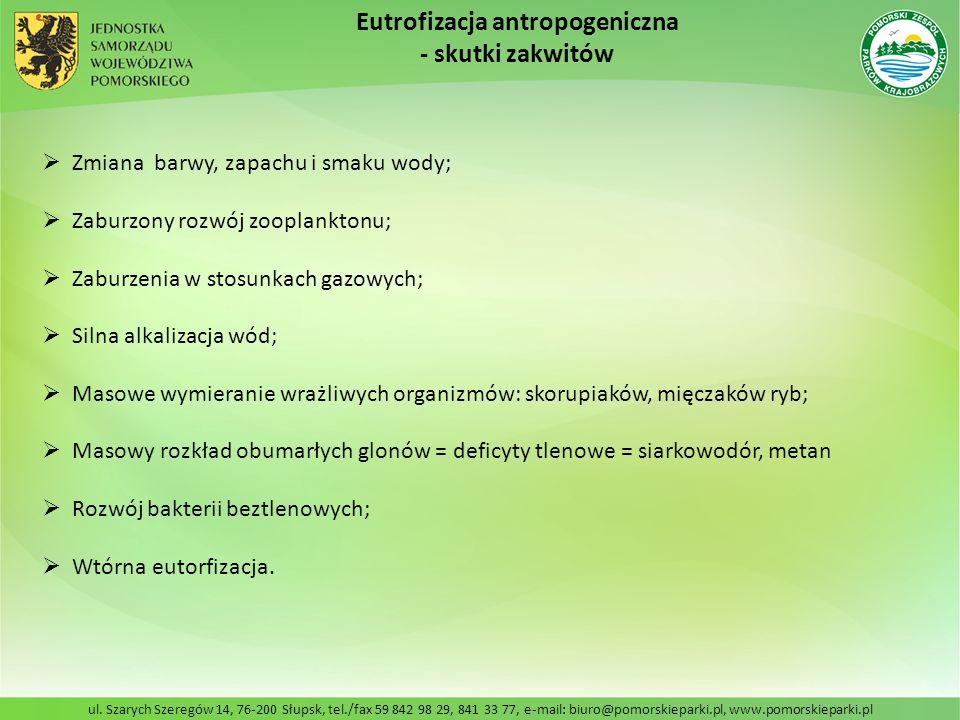 ul. Szarych Szeregów 14, 76-200 Słupsk, tel./fax 59 842 98 29, 841 33 77, e-mail: biuro@pomorskieparki.pl, www.pomorskieparki.pl Zmiana barwy, zapachu