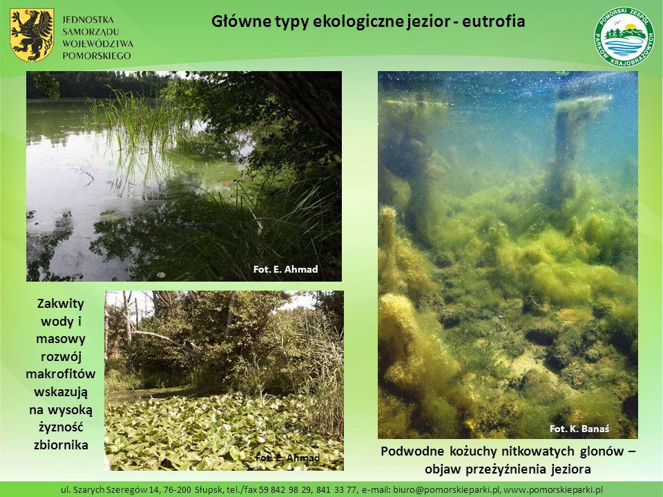 ul. Szarych Szeregów 14, 76-200 Słupsk, tel./fax 59 842 98 29, 841 33 77, e-mail: biuro@pomorskieparki.pl, www.pomorskieparki.pl Główne typy ekologicz