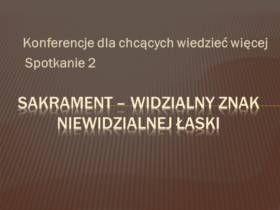 Konferencje dla chcących wiedzieć więcej Spotkanie 2