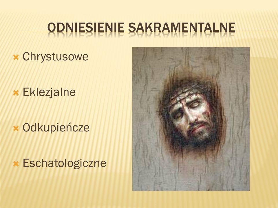 Chrystusowe Eklezjalne Odkupieńcze Eschatologiczne