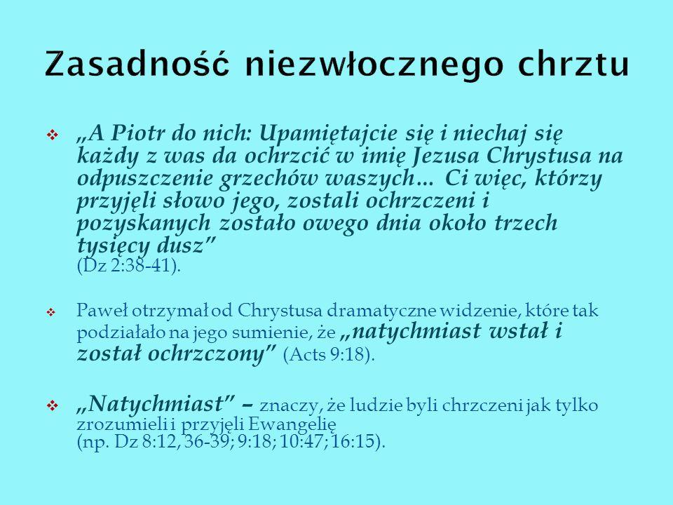 Dz 16:14,15: Lidia skłaniała się do tego, co mówił Paweł.