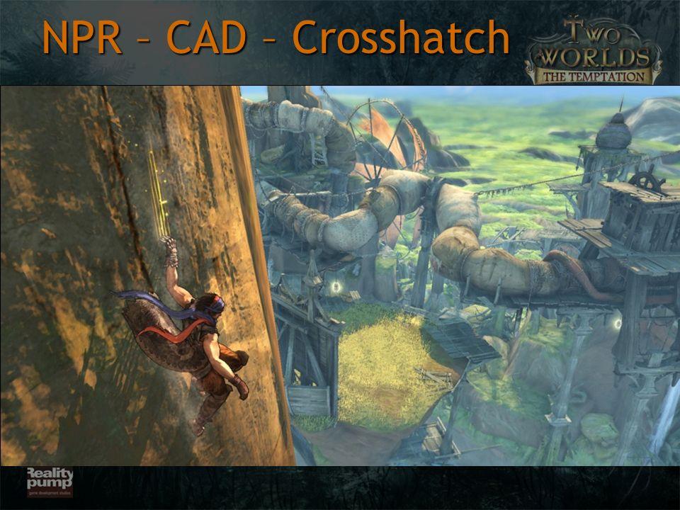 NPR – CAD – Crosshatch