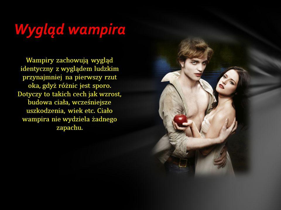 Najbardziej znane wampiry Edward Cullen Alice Cullen Stefano Salvatore