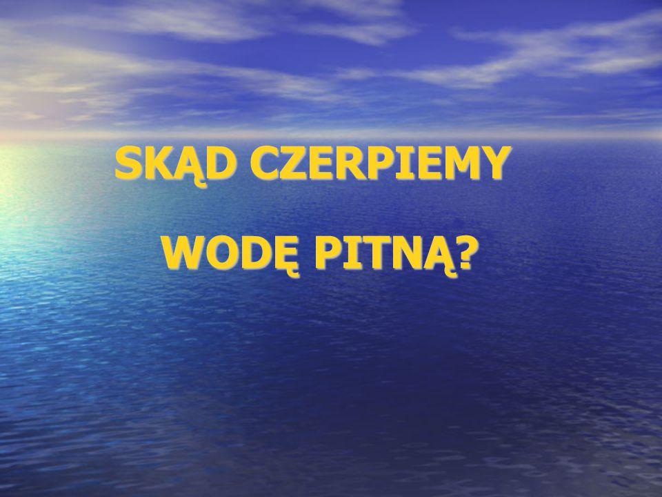 RODOWÓD WODY PITNEJ: Występowanie wód podziemnych w okolicach Wierzbicy ma bezpośredni związek z budową geologiczną obszaru gminy.