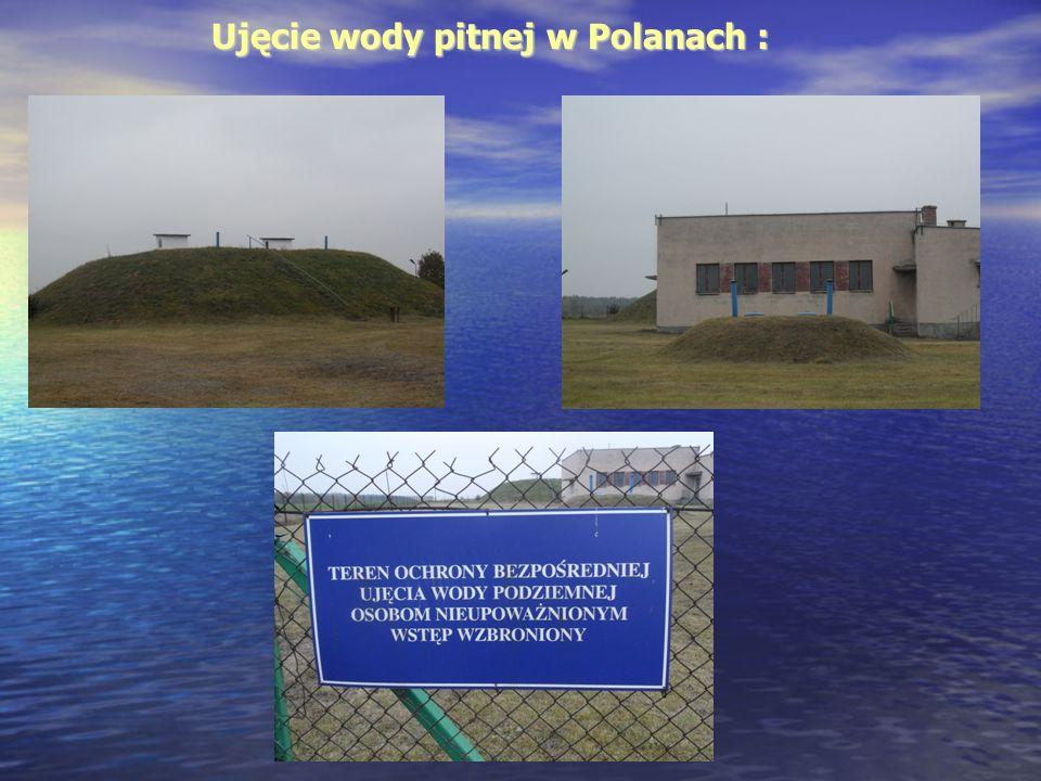 UJĘCIE WODY PODZIEMNEJ W ZALESICACH: Ujęcie wody zlokalizowane zostało w środkowej części wsi Zalesice w odległości około 2,1 km na wschód od drogi Radom – Wierzbica, około 150 m w kierunku północnym od drogi w Zalesicach.