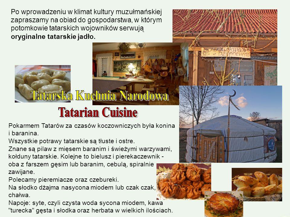Kruszyniany to dawna wioska tatarska, którą niegdyś Samuel Mirza Krzeczowski otrzymał od Jana III Sobieskiego i zasiedlił jeźdźcami ze swojego szwadro