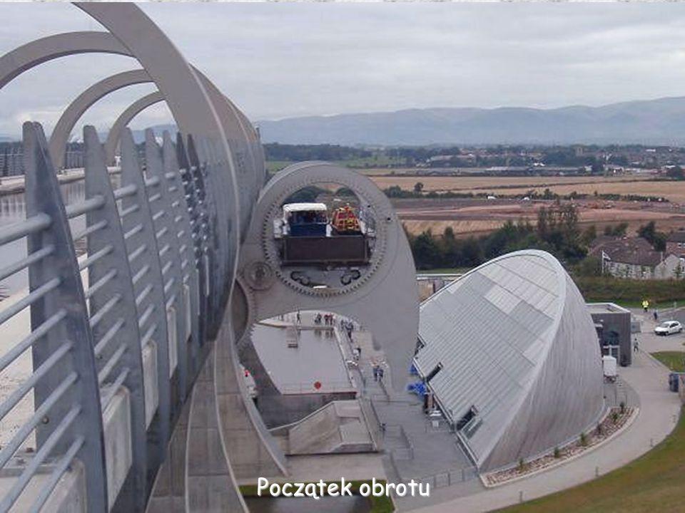 Łódzie w obu gondolach Górna gondola Dolna gondola 24 m