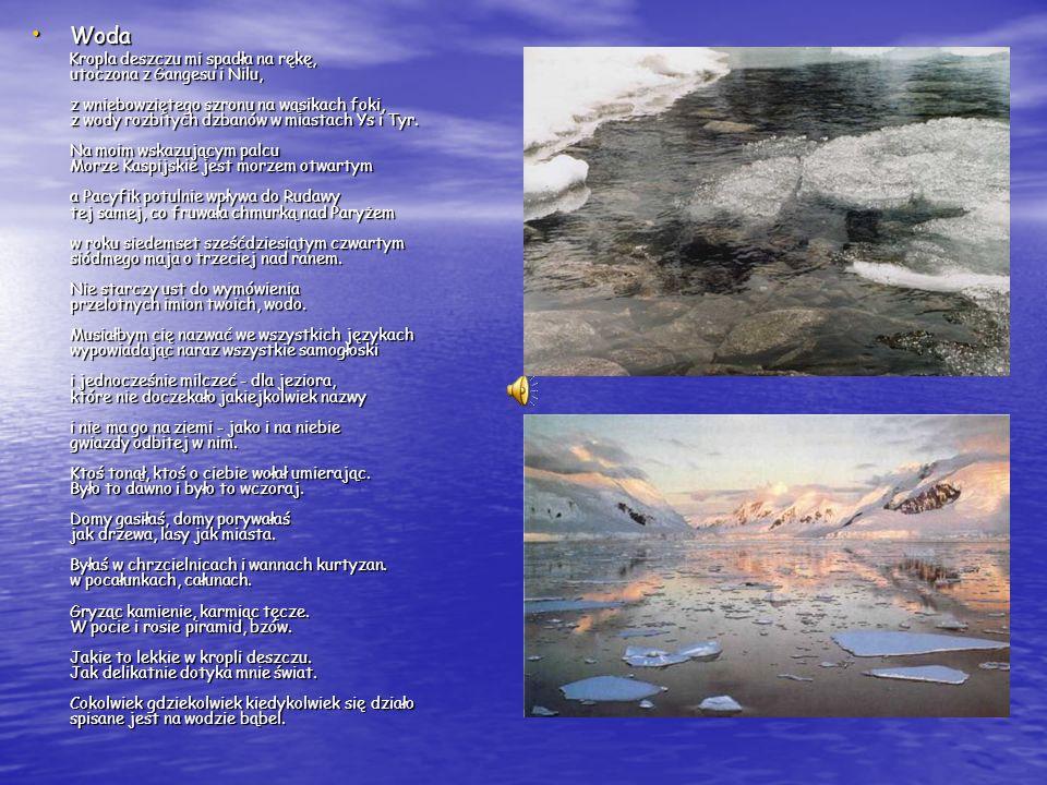 Nad wodą wielką i czystą... Nad wodą wielką i czystą... Nad wodą wielką i czystą Nad wodą wielką i czystą Stały rzędami opoki, Stały rzędami opoki, I