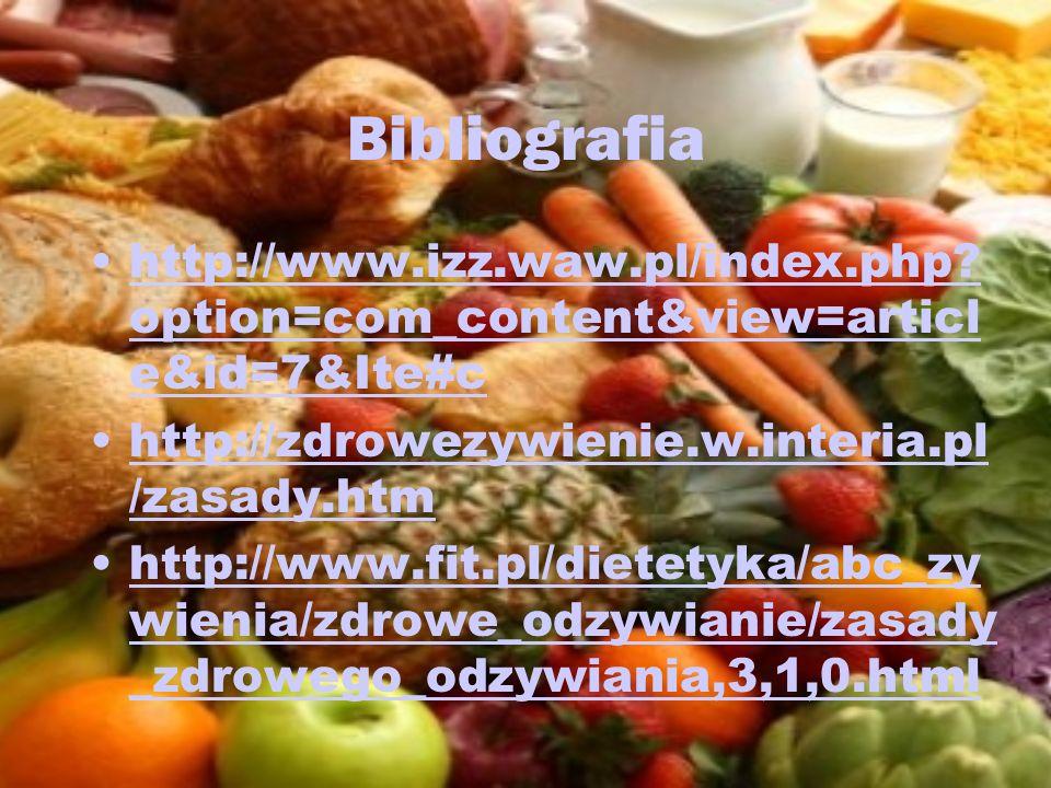 Bibliografia http://www.izz.waw.pl/index.php? option=com_content&view=articl e&id=7&Ite#chttp://www.izz.waw.pl/index.php? option=com_content&view=arti