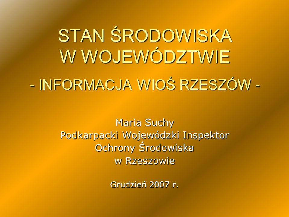 Interwencje przyjęte przez WIOŚ Rzeszów w latach 2004 - 2006 Statystyka dotycząca ilości wniosków o interwencję, wskazuje na znaczny ich wzrost w 2006 roku.