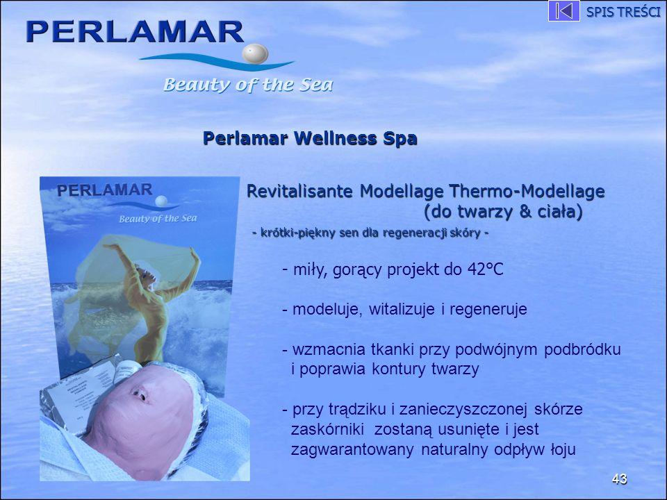 43 Perlamar Wellness Spa Revitalisante Modellage Thermo-Modellage (do twarzy & ciała) - krótki-piękny sen dla regeneracji skóry - - miły, gorący proje