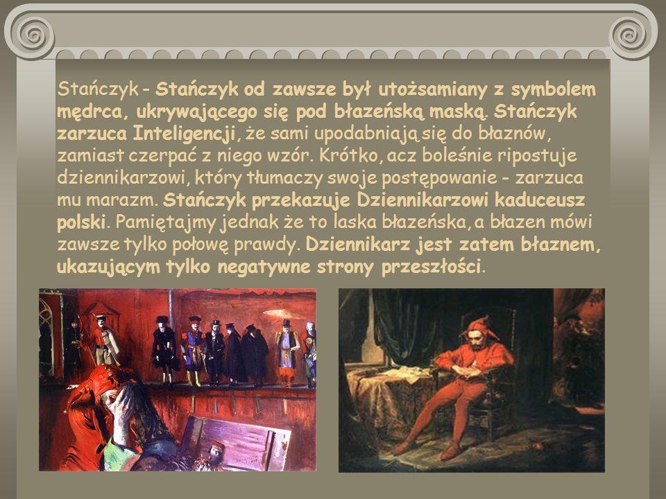 Hetman - Do Pana Młodego przychodzi Hetman Branicki, symbol zdrady Polski.