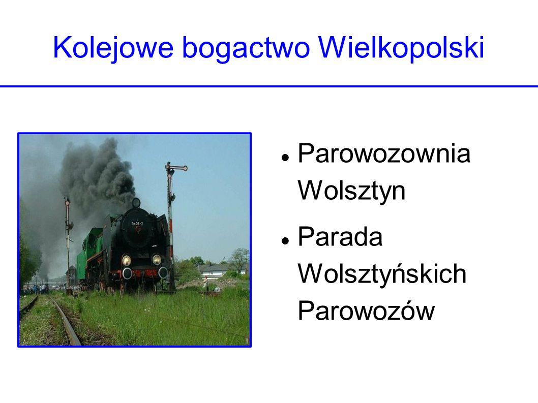 Kolejowe bogactwo Wielkopolski Parowozownia Wolsztyn Parada Wolsztyńskich Parowozów