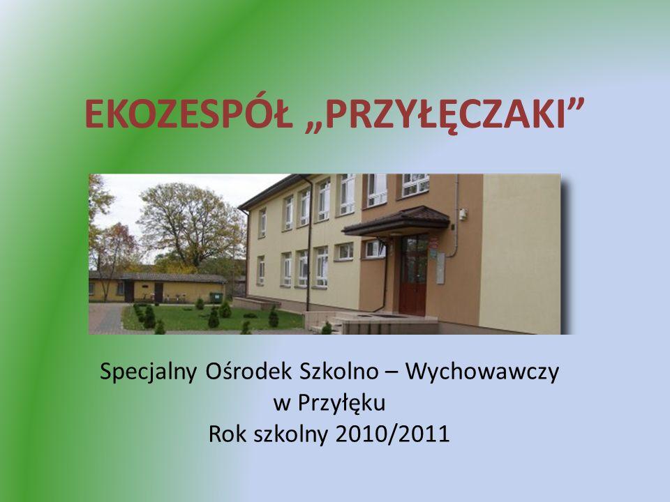 EKOZESPÓŁ PRZYŁĘCZAKI Specjalny Ośrodek Szkolno – Wychowawczy w Przyłęku Rok szkolny 2010/2011