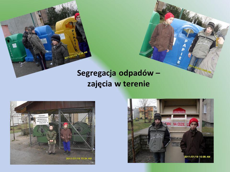 Segregacja odpadów – zajęcia w terenie