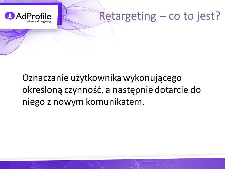 Oznaczanie użytkownika wykonującego określoną czynność, a następnie dotarcie do niego z nowym komunikatem. Retargeting – co to jest?