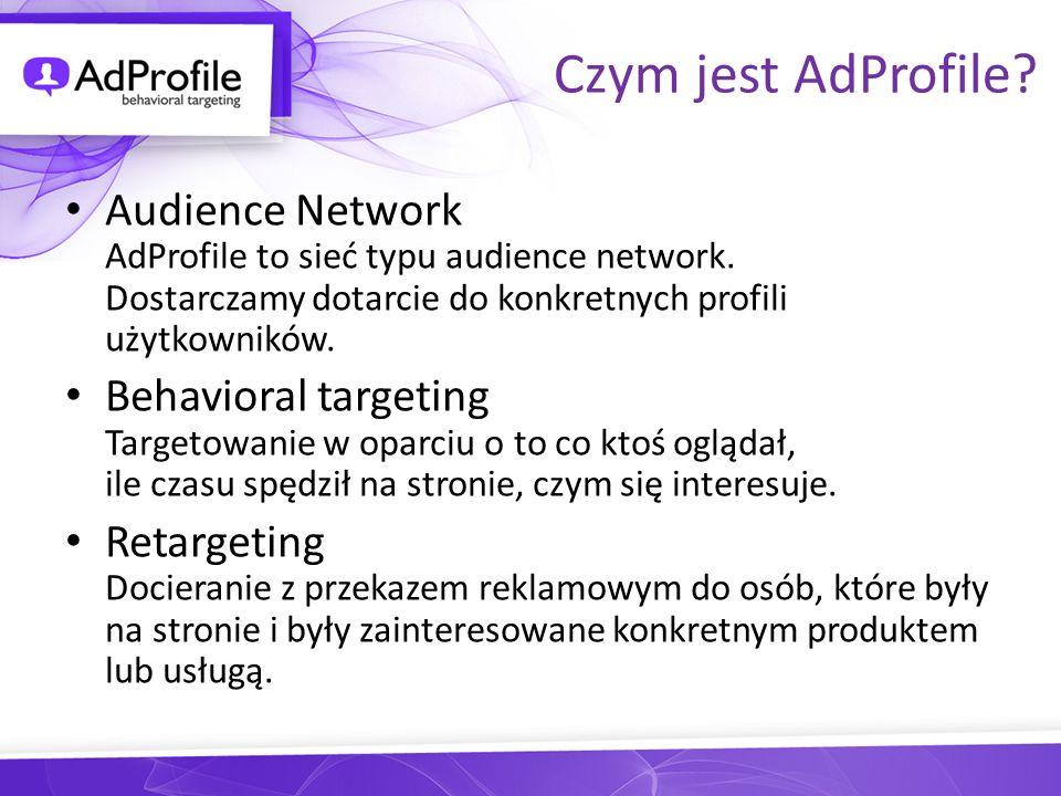 Profile zdefiniowane Kupujący Poszukujący nieruchomości Szukający AGD lub RTV Motofani
