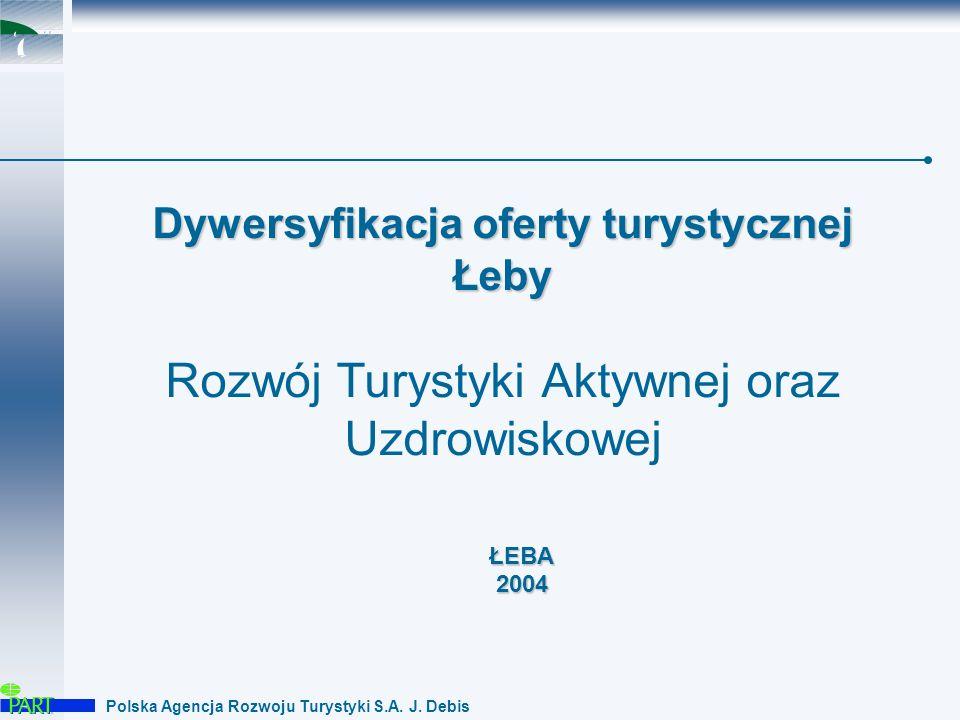 Polska Agencja Rozwoju Turystyki S.A.J. Debis Łeba – piasek, słońce, zabawa i dobre jedzenie...
