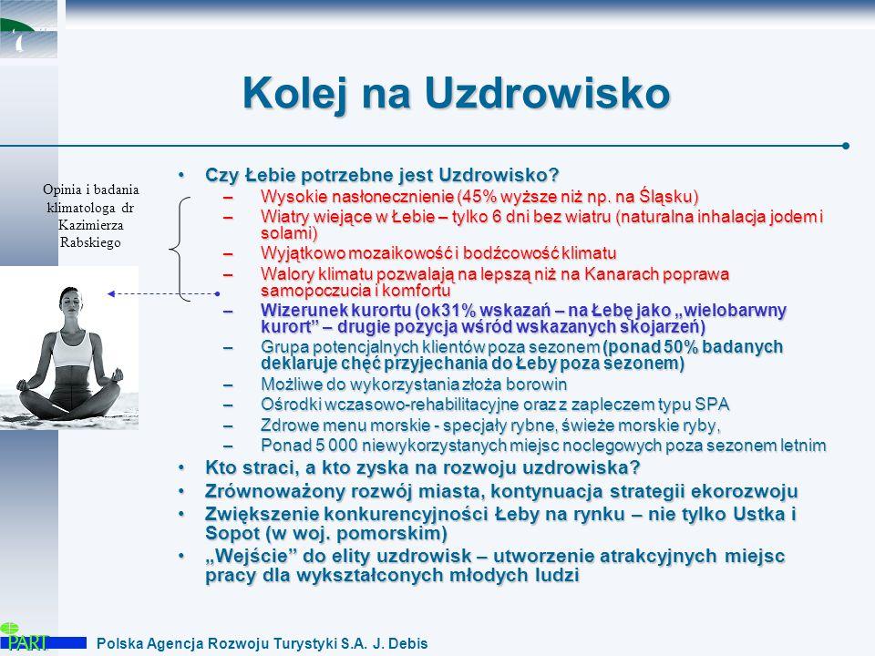 Polska Agencja Rozwoju Turystyki S.A.J. Debis Droga do uzdrowiska...