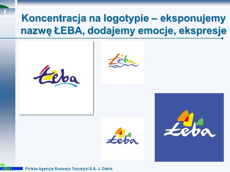 Polska Agencja Rozwoju Turystyki S.A. J. Debis Motyw ludzki – znak dynamiczny, wskazuje...