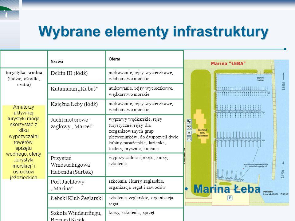 Polska Agencja Rozwoju Turystyki S.A.J. Debis Wybrane elementy infrastruktury......