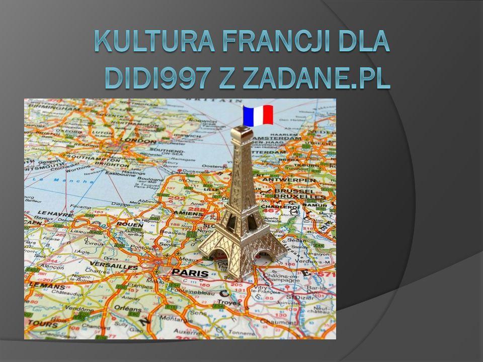 Francja to państwo o bardzo bogatej i urozmaiconej kulturze.